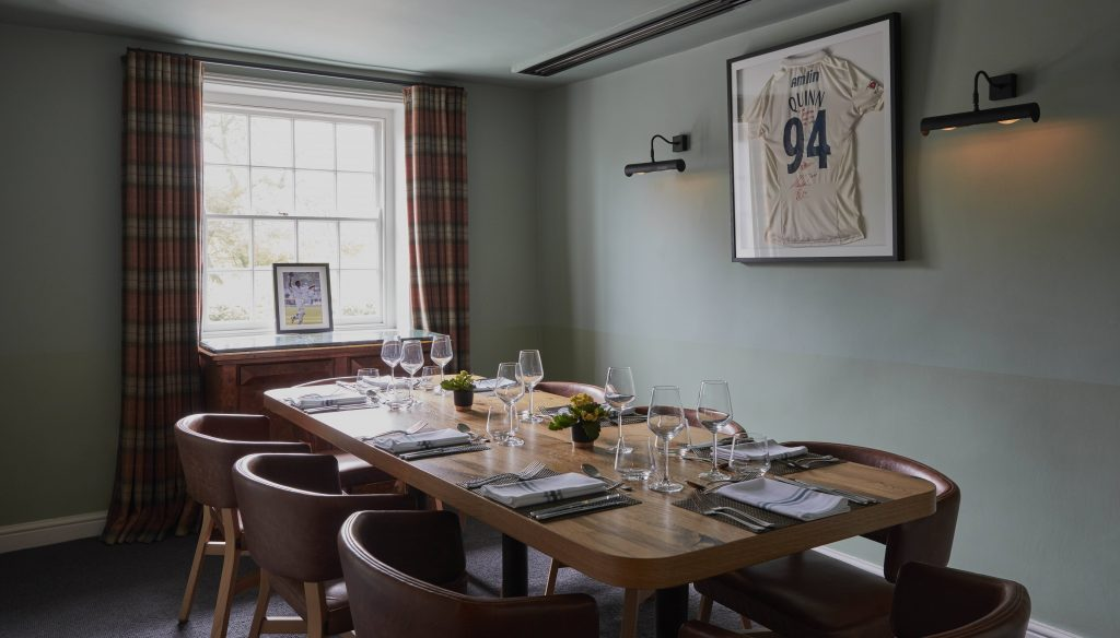 The Essex Cricket Room