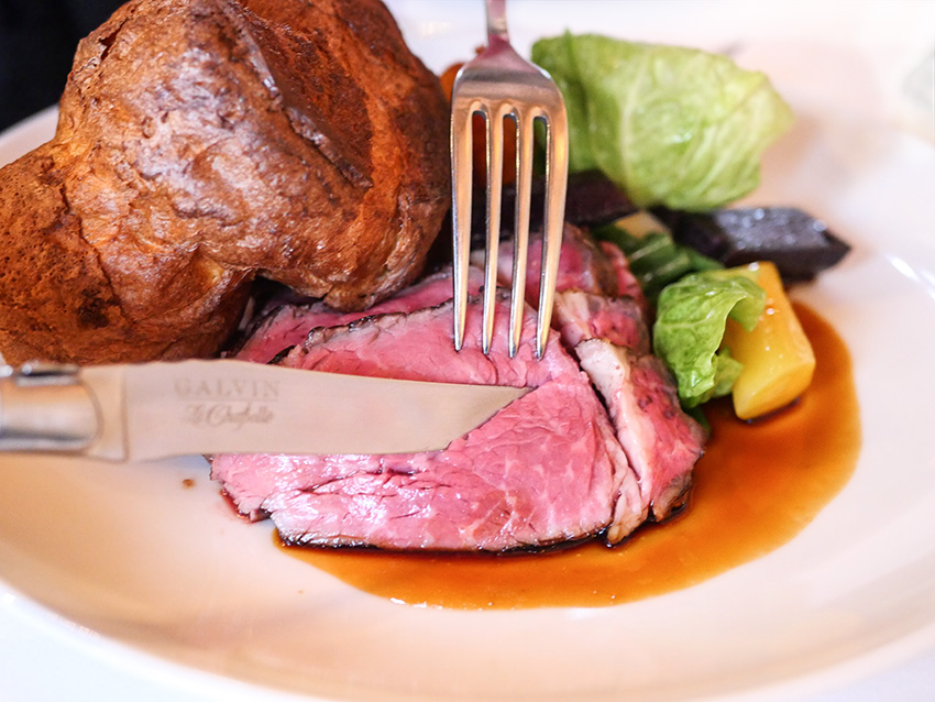 Award-Winning Sunday Lunch